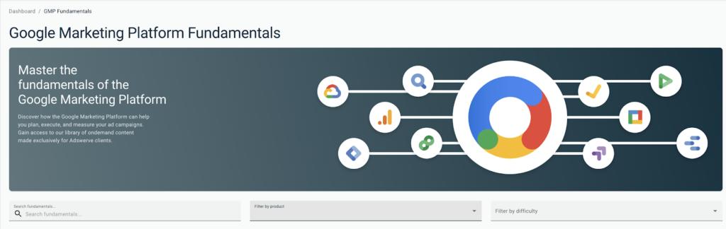 Introducing Adswerve's newest training offering. Google Marketing Platform Fundamentals.